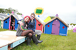 Amy Pawley and Emmett Lawlor on Day 1 of the Oxegen Festival, Punchestown, Co.Kildare...(Photo credit should read Jenny Matthews www.newsfile.ie)....This Picture has been sent you under the conditions enclosed by:.Newsfile Ltd..The Studio,.Millmount Abbey,.Drogheda,.Co Meath..Ireland..Tel: +353(0)41-9871240.Fax: +353(0)41-9871260.GSM: +353(0)86-2500958.email: pictures@newsfile.ie.www.newsfile.ie.