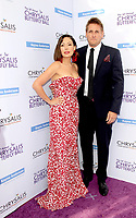 LOS ANGELES - JUN 3:  Curtis Stone, Lindsay Sloane at the 16th Annual Chrysalis Butterfly Ball at the Private Estate on June 3, 2017 in Los Angeles, CA