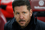 Atletico de Madrid´s coach Diego Pablo Simeone during 2015-16 La Liga match between Atletico de Madrid and Deportivo de la Coruna at Vicente Calderon stadium in Madrid, Spain. March 12, 2016. (ALTERPHOTOS/Victor Blanco)