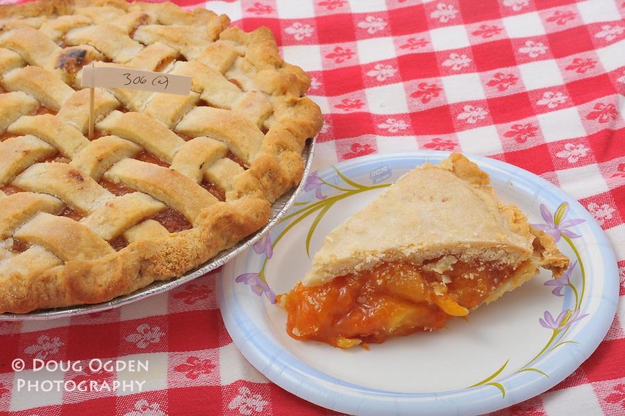 Pie Baking contest.  Peach Pie.  Olympia Baker's Guild