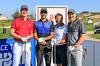 Team Alvaro Quiros (ESP) during the Pro-Am ahead of the Rocco Forte Sicilian Open played at Verdura Resort, Agrigento, Sicily, Italy 08/05/2018.<br /> Picture: Golffile | Phil Inglis<br /> <br /> <br /> All photo usage must carry mandatory copyright credit (&copy; Golffile | Phil Inglis)