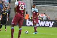 Sebastien Haller of West Ham United during West Ham United vs Manchester City, Premier League Football at The London Stadium on 10th August 2019