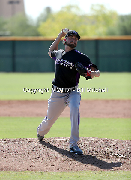 Shane Broyles - 2017 AIL Rockies (Bill Mitchell)