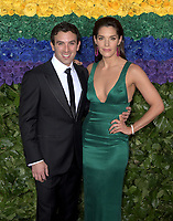 NEW YORK, NEW YORK - JUNE 09: Jarrod Spector, Kelli Barrett attend the 73rd Annual Tony Awards at Radio City Music Hall on June 09, 2019 in New York City. <br /> CAP/MPI/IS/JS<br /> ©JSIS/MPI/Capital Pictures
