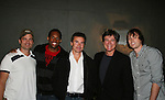 Daniel Cosgrove - Victor Saint-Lawrence - Kurt McKinney - Frank Dicopoulos - Zack Conroy - Guiding Light's actors at a private dinner on top of Mount Washington, near Pittsburgh, PA on the night before October 1, 2009 in the Pittsburgh, PA area as the actors GO PINK with Panera Bread as they visit many of the Panera Bread locations the next day. Proceeds from pink ribbon bagel sales will benefit the Young Women's Breast Cancer Awareness Foundation. (Photo by Sue Coflin/Max Photos)