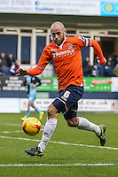 Scott Cuthbert of Luton Town during the Sky Bet League 2 match between Luton Town and Wycombe Wanderers at Kenilworth Road, Luton, England on 26 December 2015. Photo by David Horn.