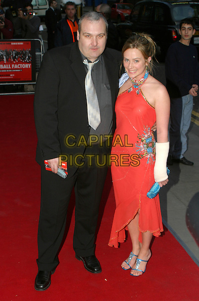 FRANK HARPER.The Football Factory - UK Charity Film Premiere, Odeon, West End, London, WC2.May 10th, 2004.full length, full-length.www.capitalpictures.com.sales@capitalpictures.com.© Capital Pictures..