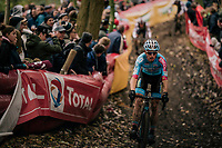 Kevin Pauwels (BEL/Marlux-Bingoal)<br /> <br /> Men's race<br /> Superprestige Asper-Gavere 2018 (BEL)
