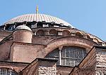 Hagia Sophia Curves 01 - Hagia Sophia (Aya Sofya) basilica, Sultanahmet, Istanbul, Turkey