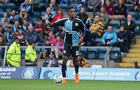 Jason Banton of Wycombe Wanderers looks for options during the Sky Bet League 2 match between Wycombe Wanderers and Hartlepool United at Adams Park, High Wycombe, England on 5 September 2015. Photo by Andy Rowland.