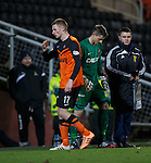Chris Erskine raging after being subbed to make way for a new keeper