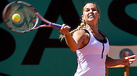 Dominika Cibulkova (SVK) (20) against Agnes Szavay (HUN) (29) in the fourth round of the Women's SIngles. Cibulkova beat Szavay 6-2 6-4Dominika Cibulkova (SVK) (20) against Agnes Szavay (HUN) (29) in the fourth round of the Women's SIngles. Cibulkova beat Szavay 6-2 6-4..Tennis - French Open - Day 8 - Sun 31st May 2009 - Roland Garros - Paris - France..Frey Images, Barry House, 20-22 Worple Road, London, SW19 4DH.Tel - +44 20 8947 0100.Cell - +44 7843 383 012