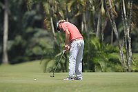 Marcel Siem (GER) in action on the 6th during Round 3 of the Maybank Championship at the Saujana Golf and Country Club in Kuala Lumpur on Saturday 3rd February 2018.<br /> Picture:  Thos Caffrey / www.golffile.ie<br /> <br /> All photo usage must carry mandatory copyright credit (© Golffile | Thos Caffrey)