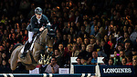 Scott Brash of United Kingdom rides Hello M'Lady in action during the Longines Grand Prix as part of the Longines Hong Kong Masters on 15 February 2015, at the Asia World Expo, outskirts Hong Kong, China. Photo by Victor Fraile / Power Sport Images