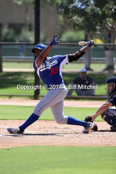 Andrew Godbold - 2014 AIL Dodgers (Bill Mitchell)