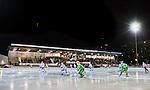 Stockholm 2015-01-16 Bandy Elitserien Hammarby IF - IFK Kung&auml;lv :  <br /> Vy &ouml;ver Zinkensdamms IP mot huvudl&auml;ktaren med publik under matchen mellan Hammarby IF och IFK Kung&auml;lv <br /> (Foto: Kenta J&ouml;nsson) Nyckelord:  Elitserien Bandy Zinkensdamms IP Zinkensdamm Zinken Hammarby Bajen HIF IFK Kung&auml;lv utomhus exteri&ouml;r exterior inomhus interi&ouml;r interior