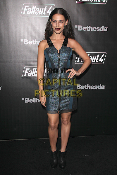 LOS ANGELES, CA - NOVEMBER 5: Jessica Lowndes at the Fallout 4 video game launch event in downtown Los Angeles on November 5, 2015 in Los Angeles, California. <br /> CAP/MPI21<br /> &copy;MPI21/Capital Pictures