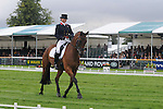 Jeanette Brakewell riding Chill Out Bob during the Dressage phase of the 2012 Land Rover Burghley Horse Trials in Stamford, Lincolsnhire
