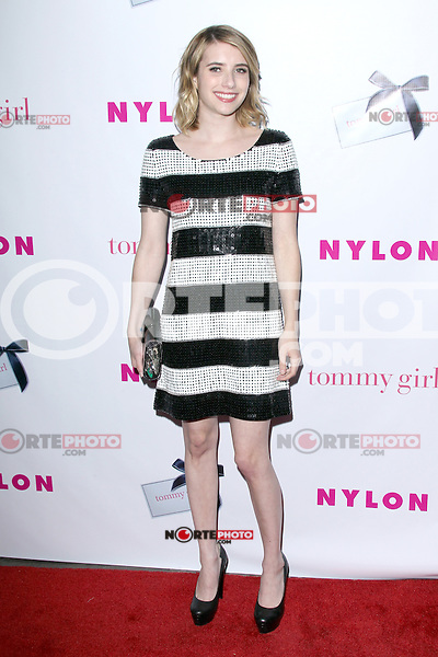 Emma Roberts at the NYLON Magazine Annual May Young Hollywood Issue Party at Hollywood Roosevelt Hotel on May 9, 2012 in Hollywood, California. © mpi29/MediaPunch Inc.