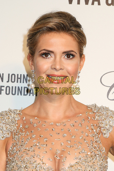 WEST HOLLYWOOD, CA - MARCH 2: Carly Steel attending the 22nd Annual Elton John AIDS Foundation Academy Awards Viewing/After Party in West Hollywood, California on March 2nd, 2014. Photo <br /> CAP/MPI/COR99<br /> &copy;COR99/MediaPunch/Capital Pictures