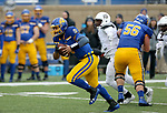 SIOUX FALLS, SD - NOVEMBER 3: Taryn Christion #3 from South Dakota State scrambles for a 32 yard touchdown against Missouri State during their game Saturday afternoon at Dana J. Dykhouse Stadium in Brookings. (Photo by Dave Eggen/Inertia)