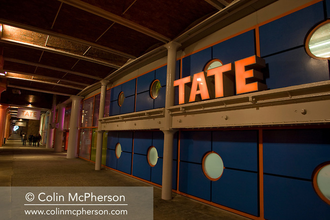The Tate gallery in the Albert Dock, Liverpool. It was opened in 1988 in a converted warehouse on the banks of the river Mersey. The Tate hosted the 2007 Turner Prize, the first time the competition was shown at a venue outside London.