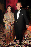 """Cornelia and Meredith Long at the Museum of Fine Arts Houston's 2013 Grand Gala """"India"""" Friday Oct. 04,2013.(Dave Rossman photo)"""
