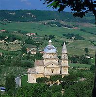Italy, Tuscany, Montepulciano: The Church of Madonna Di San Biagio | Italien, Toskana, Montepulciano: Kirche Madonna Di San Biagio