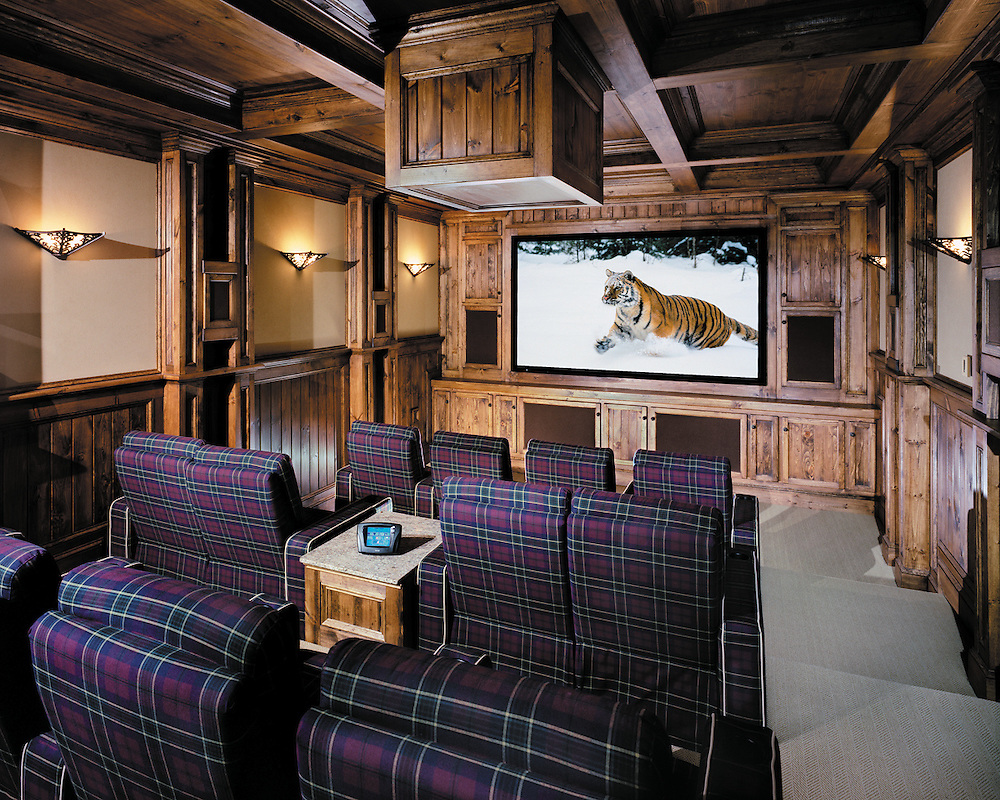 Wooden Finish Home Theater