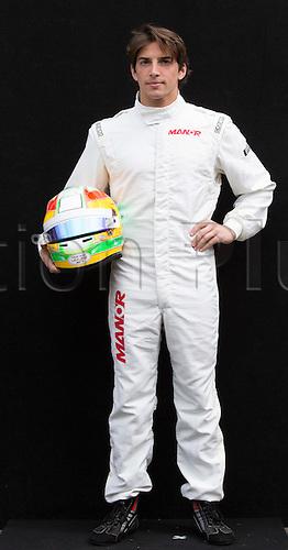 12.03.2015. Melbourne, Australia. Official driver pportrait for 2015 Season before round 1 of the F1 season.  Roberto Merhi (ESP) Manor GP