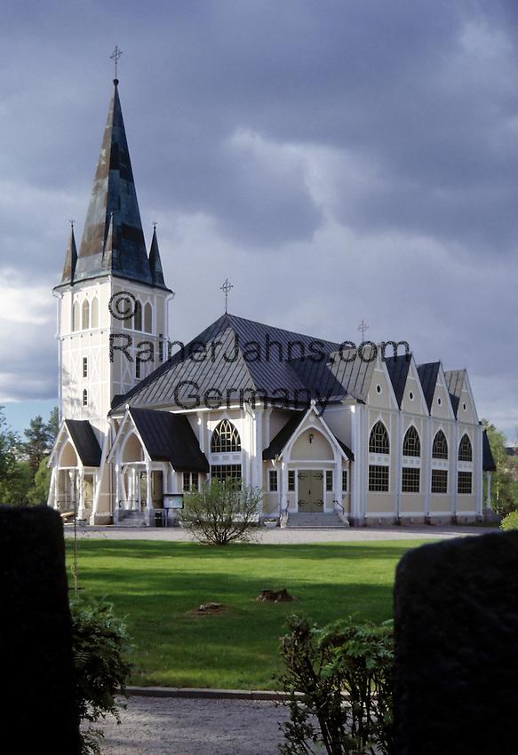 Sweden, Lappland, Arvidsjaur: church | Schweden, Lappland, Arvidsjaur: Kirche