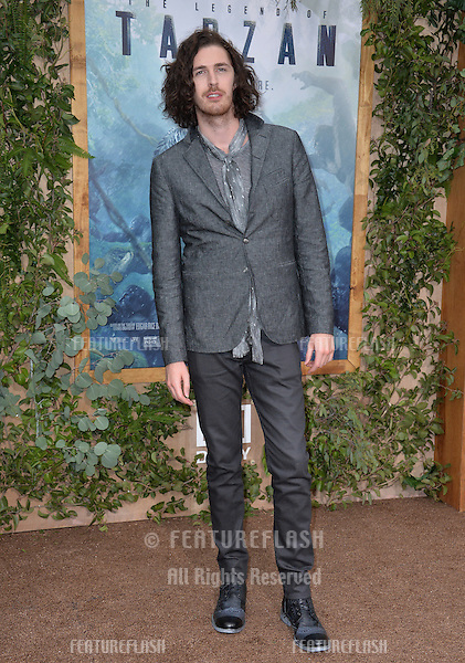 LOS ANGELES, CA. June 27, 2016: Musician Hozier at the world premiere of &quot;The Legend of Tarzan&quot; at the Dolby Theatre, Hollywood.<br /> Picture: Paul Smith / Featureflash