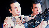Ghostbusters (1984) <br /> Dan Aykroyd &amp; Bill Murray<br /> *Filmstill - Editorial Use Only*<br /> CAP/KFS<br /> Image supplied by Capital Pictures