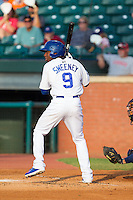 Darnell Sweeney (9) of the Chattanooga Lookouts at bat against the Montgomery Biscuits at AT&T Field on July 24, 2014 in Chattanooga, Tennessee.  The Biscuits defeated the Lookouts 6-4. (Brian Westerholt/Four Seam Images)