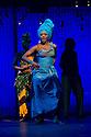 "London, UK. 21/07/2011.  ""FELA!"" opens at Sadler's Wells. FELA! is a provocative hybrid of dance, theatre and music exploring the extravagant world of Afrobeat legend Fela Kuti. Paulette Ivory as Sandra Izsadore. Photo credit: Jane Hobson"