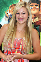 """LOS ANGELES - AUG 5:  Olivia Holt arrives at the """"ParaNorman"""" Premiere at Universal CityWalk on August 5, 2012 in Universal City, CA ©mpi27/MediaPunch Inc"""