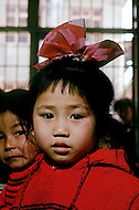 April 15th, 1989, Poyang, Jiangxi Province, China: daily life, elementary school: School of May 1st.