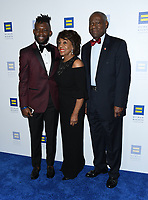 10 March 2018 - Los Angeles, California - Maxine Waters. The Human Rights Campaign 2018 Los Angeles Dinner held at JW Marriott LA Live.  <br /> CAP/ADM/BT<br /> &copy;BT/ADM/Capital Pictures