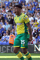 Onel Hernandez of Norwich City celebrates getting the second Norwich goal during Birmingham City vs Norwich City, Sky Bet EFL Championship Football at St Andrews on 4th August 2018