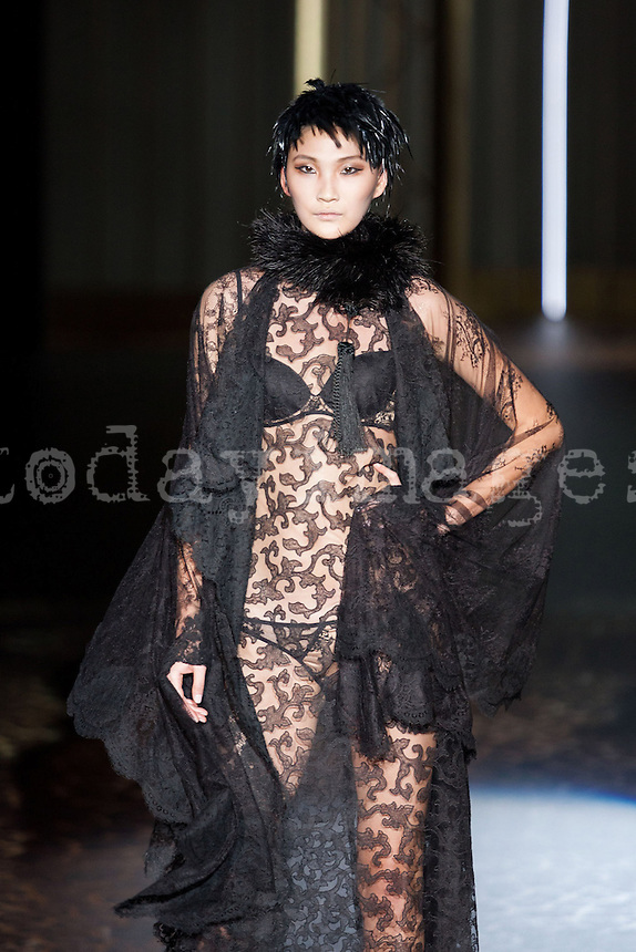 Andres Sarda in Mercedes-Benz Fashion Week Madrid 2013