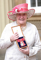 23 February 2017 - The Right Honourable Baroness Shirley Williams during an Investiture Ceremony at Buckingham Palace in London. Photo Credit: ALPR/AdMedia