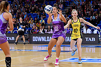 Stars&rsquo; Maia Wilson in action during the ANZ Premiership - Pulse v Northern Stars at Te Rauparaha Arena, Porirua, New Zealand on Monday 25 June 2018.<br /> Photo by Masanori Udagawa. <br /> www.photowellington.photoshelter.com