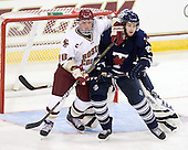 Bill Arnold (BC - 24), ? - The Boston College Eagles defeated the visiting University of Toronto Varsity Blues 8-0 in an exhibition game on Sunday afternoon, October 3, 2010, at Conte Forum in Chestnut Hill, MA.