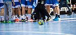 Feature: Handball auf Spielfeld / Fuesse / HBL 1.Handball-Bundesliga: TVB 1898 Stuttgart - HBW Balingen-Weilstetten am 01.03.2020 in Stuttgart (PORSCHE Arena), Baden-Wuerttemberg, Deutschland, Photo: Sandy Dinkelacker 2020<br /> <br />  beim Spiel in der Handball Bundesliga, TVB 1898 Stuttgart - HBW Balingen-Weilstetten.<br /> <br /> Foto © PIX-Sportfotos *** Foto ist honorarpflichtig! *** Auf Anfrage in hoeherer Qualitaet/Aufloesung. Belegexemplar erbeten. Veroeffentlichung ausschliesslich fuer journalistisch-publizistische Zwecke. For editorial use only.