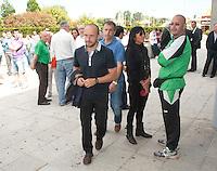 080612 SANTANDER..FUNERAL MANOLO PRECIADOS..EN LA FOTO..FOTO NACHO CUBERO