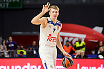 Real Madrid's Luka Doncic during Turkish Airlines Euroleague between Real Madrid and Brose Bamberg at Wizink Center in Madrid, Spain. December 20, 2016. (ALTERPHOTOS/BorjaB.Hojas)