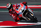 June 10th 2017,  Barcelona Circuit, Montmelo, Catalunya, Spain; MotoGP Grand Prix of Catalunya, qualifying day; Jorge Lorenzo of Ducati Team testing the new chicane of the circuit