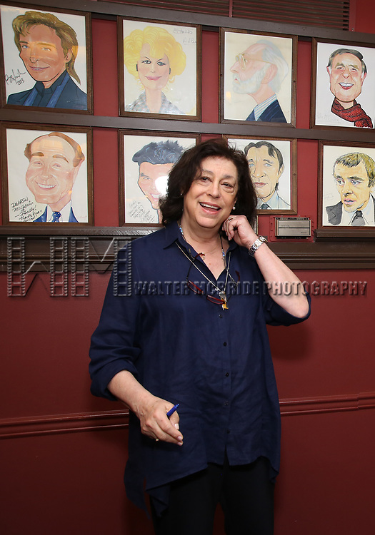 Lynne Meadow attends the portrait unveilings of Laura Linney and Cynthia Nixon starring on Broadway in the Manhattan Theatre Club's THE LITTLE FOXES, at Sardi's on June 29, 2017 in New York City.