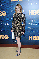 www.acepixs.com<br /> May 11, 2017  New York City<br /> <br /> Kristen Connolly attending the 'The Wizard Of Lies' New York Premiere at The Museum of Modern Art on May 11, 2017 in New York City. <br /> <br /> Credit: Kristin Callahan/ACE Pictures<br /> <br /> <br /> Tel: 646 769 0430<br /> Email: info@acepixs.com