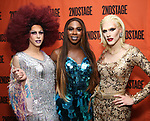 Heidi Haux, Honey Davenport and Judy Darling attends the Off-Broadway Opening Night After Party for the Second Stage Production on 'Torch Song' on October 19, 2017 at Copacabana in New York City.
